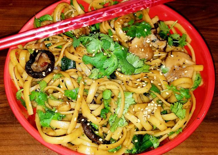 The Foods You Pick To Feed On Will Certainly Effect Your Health Mike's Garlic Mushroom Asian Noodles