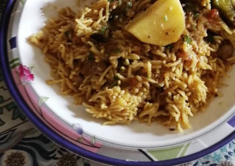 Step-by-Step Guide to Make Perfect Potato Pulao