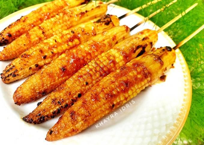 Begini Cara Memasak Baby Corn Satay (Sate Putren) yang…
