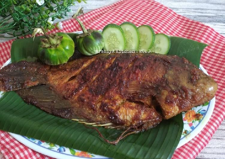 Resep Ikan Gurame Bakar Kecap, Lezat