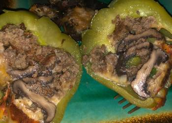 Easiest Way to Prepare Yummy Mushroom Stuffed Bellpepper  Stuffed Mushrooms