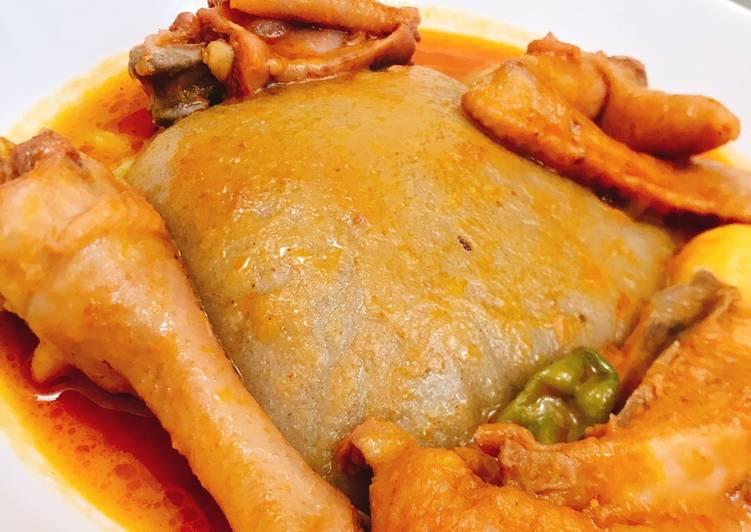 Ghana light chicken soup