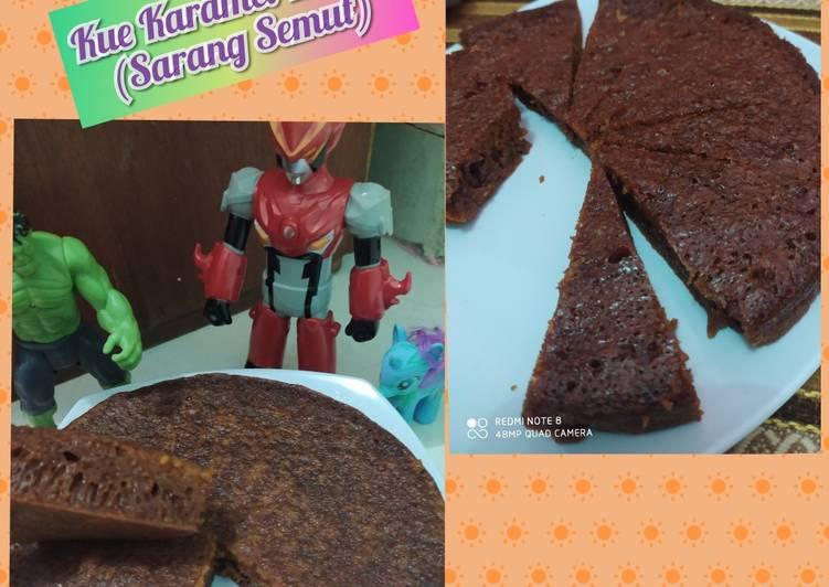 cara bikin Kue Karamel Kukus (Sarang Semut) - Sajian Dapur Bunda