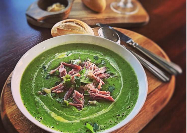Recipe of Favorite Emilys Pea and Ham soup EASY PEASEY RECIPE