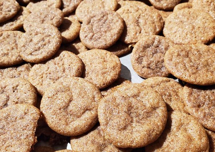 How to Prepare Quick Auntie's Gingersnaps