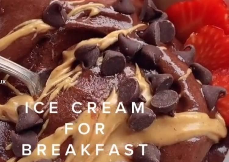 How to Prepare Award-winning Healthy banana ice cream