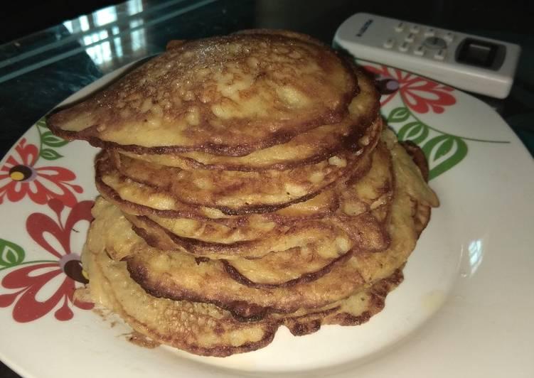10 Minute Recipe of Love Plantain pancake