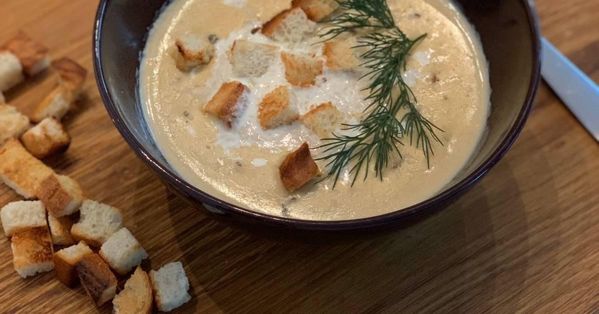 ещё крем суп из лисичек рецепт с фото следующем