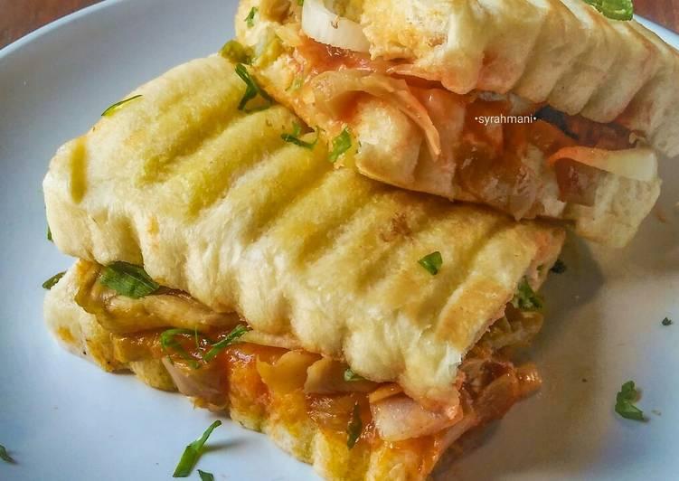 Resep Roti john isi jamur anti gagal