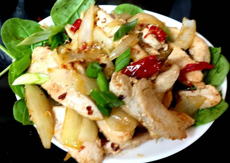 My Salt & Pepper Chilli Fried Chicken 😍😍