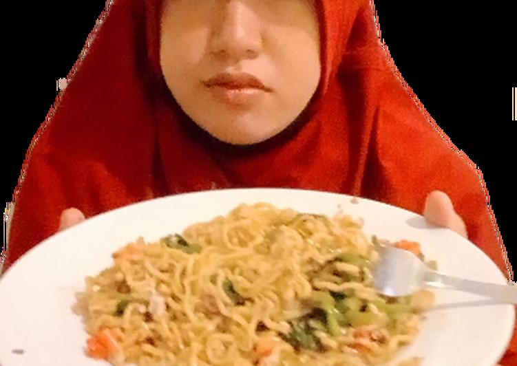 Resep Indomie kangkung Paling Mudah