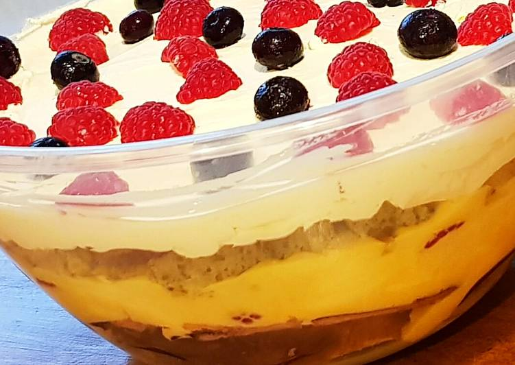 Low Carb/Keto Trifle