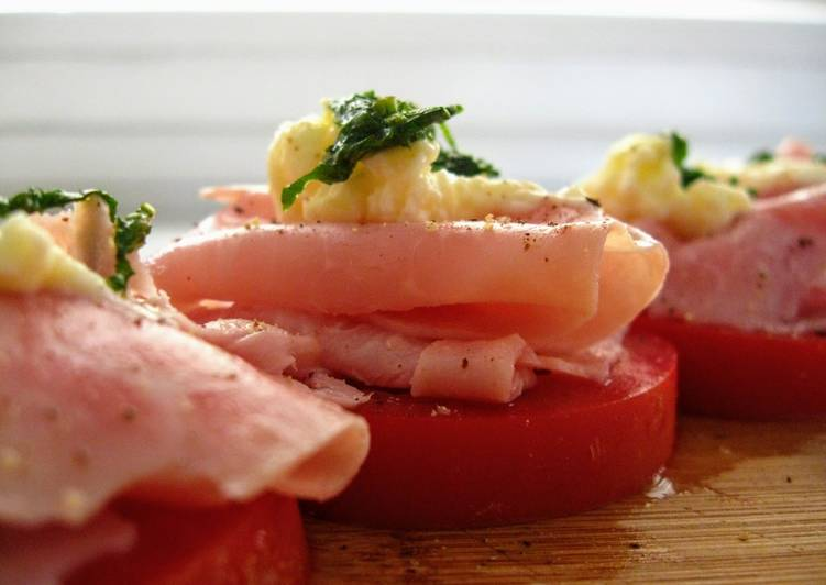 How to Make Perfect Ham & Tomato Stacks