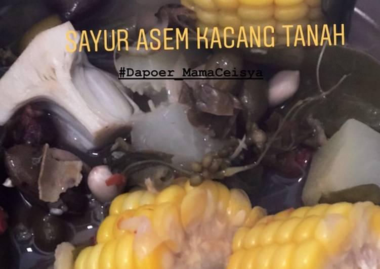 Sayur Asem Kacang Tanah