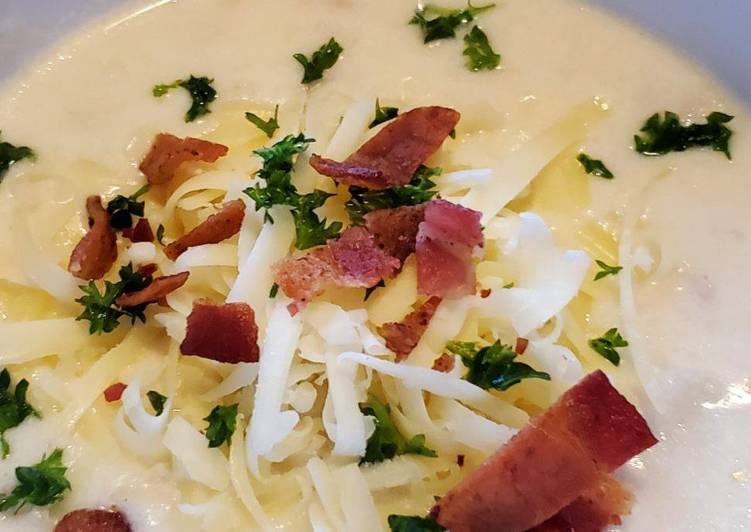 Recipe: Delicious Bacon Potato Soup