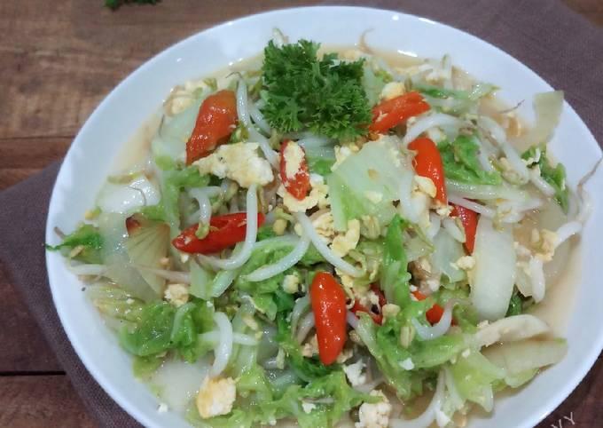 Saute SAWI PUTIH menu diet