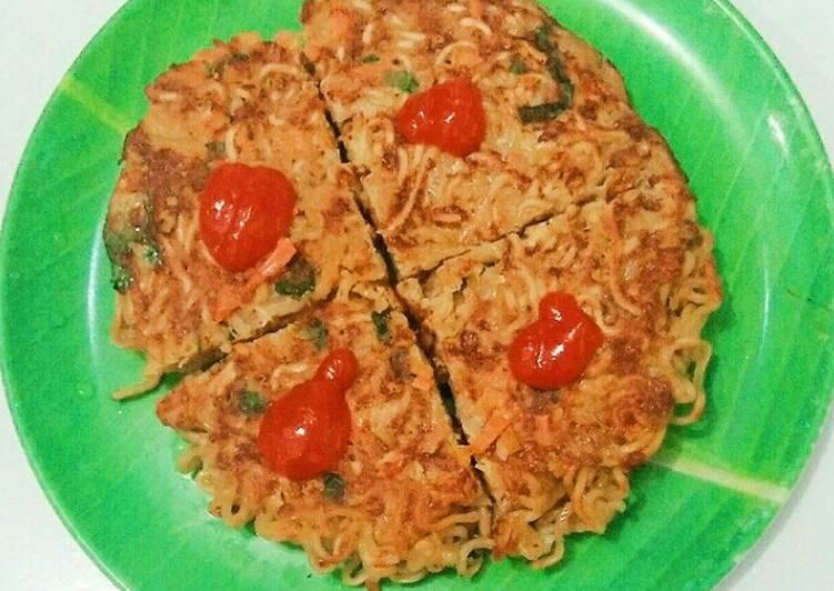 Omelet Mie Telur Sayur Simple