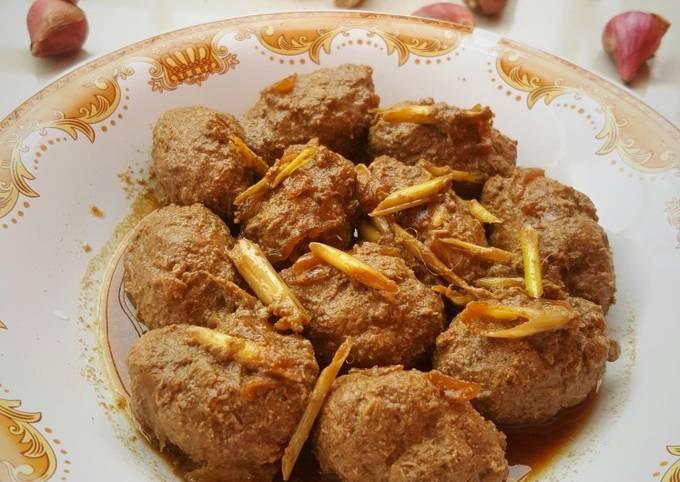 Semur Perkedel Daging(Khas Banten)
