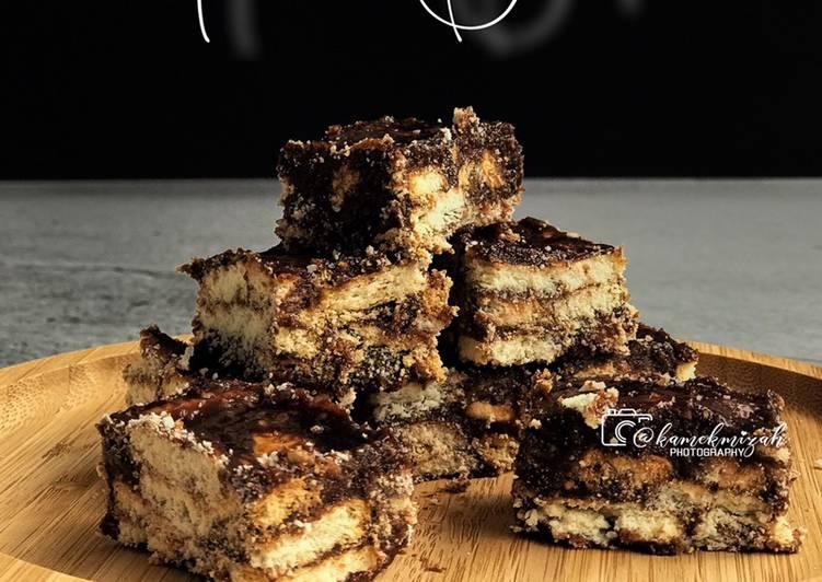 Resepi:  Kek Batik Rangup  Termudah