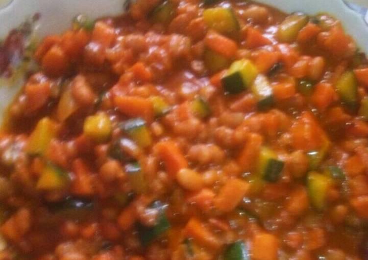 Recipe of Quick Chakalaka with a twist