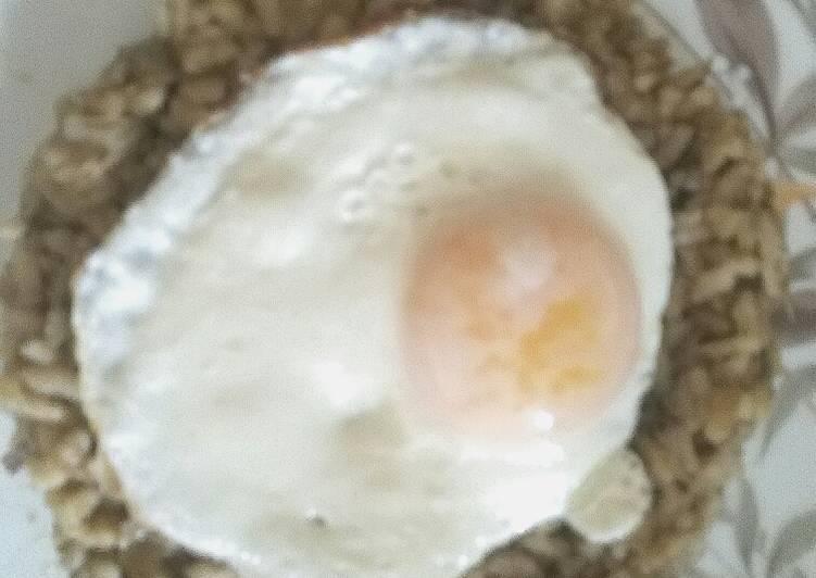 Risotto di Carciofi e Uovo fritto