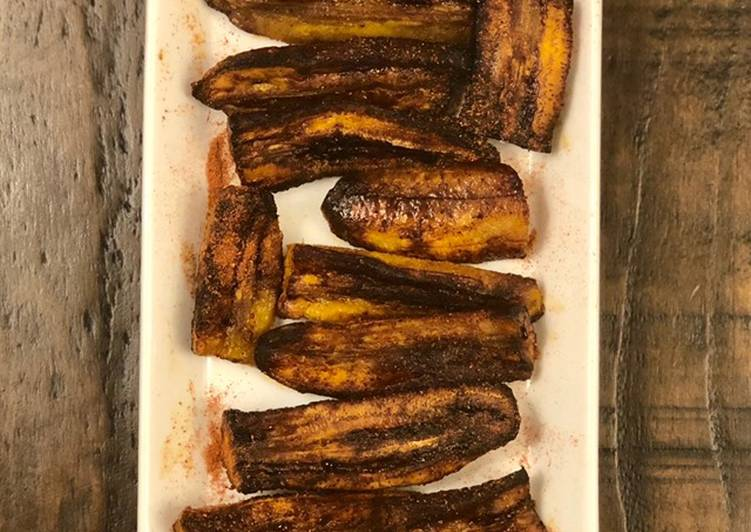 Step-by-Step Guide to Make Homemade Spicy ripe plantain