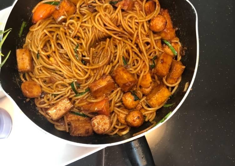Cara Buat Spaghetti Goreng Yang Memikat Hati Ramai