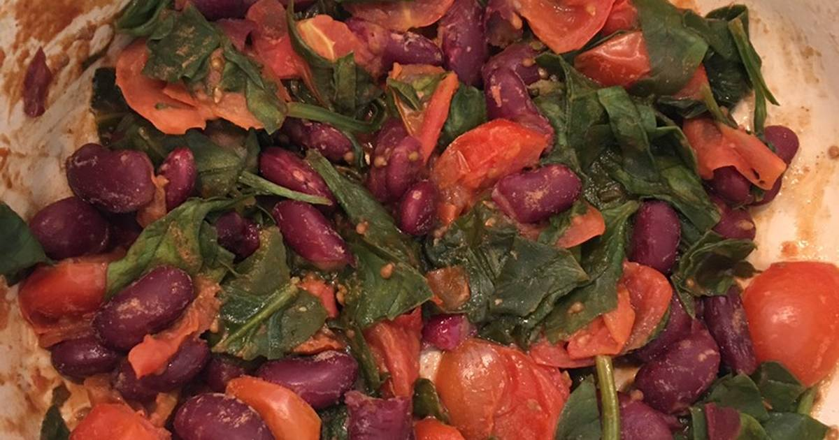 Tomato Kidney Bean And Spinach Baby Food Recipe By Jess Hawker Meadley Cookpad