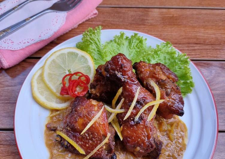 Ayam Panggang Lemon - cookandrecipe.com