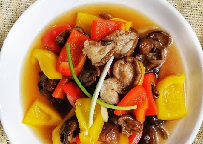 Bell pepper & mushroom