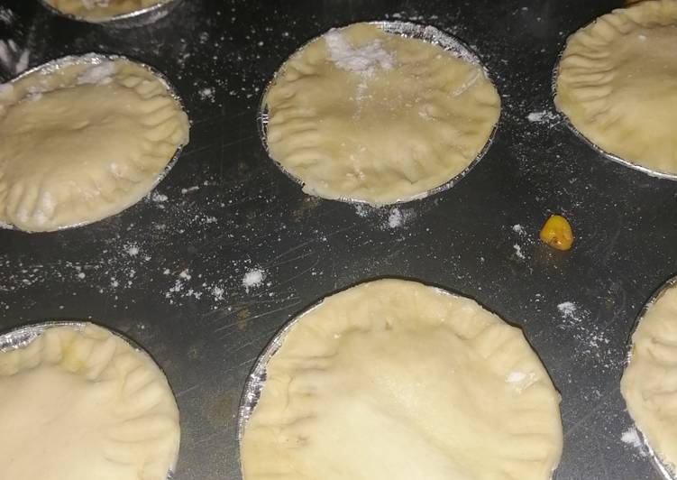 Easiest Way to Cook Appetizing Cheese and sweet corn mini pies