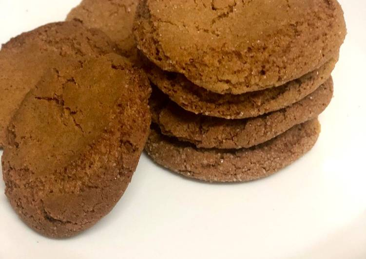 Recipe of Most Popular Ginger Cookies