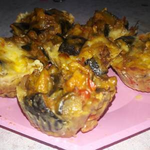 Muffins de Berenjena
