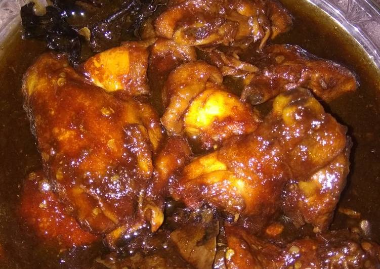 Ayam kecap sederhana