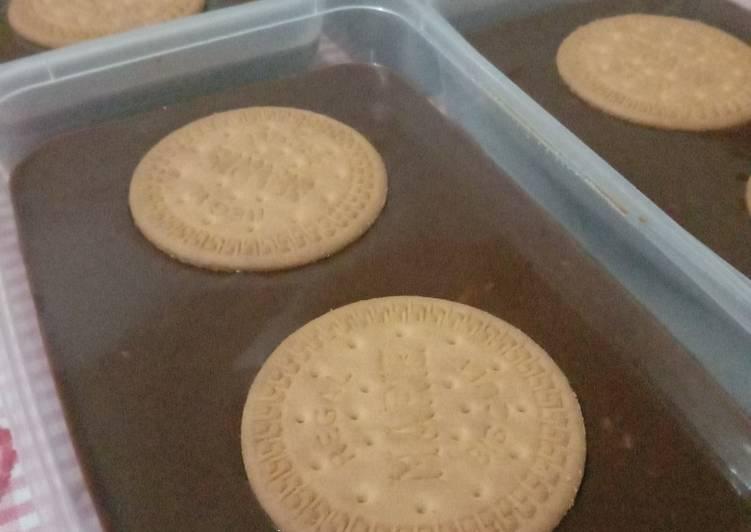 Bagaimana Membuat 03 Puding coklat lapis vla coklat toping regal 😍, Dijamin Endes
