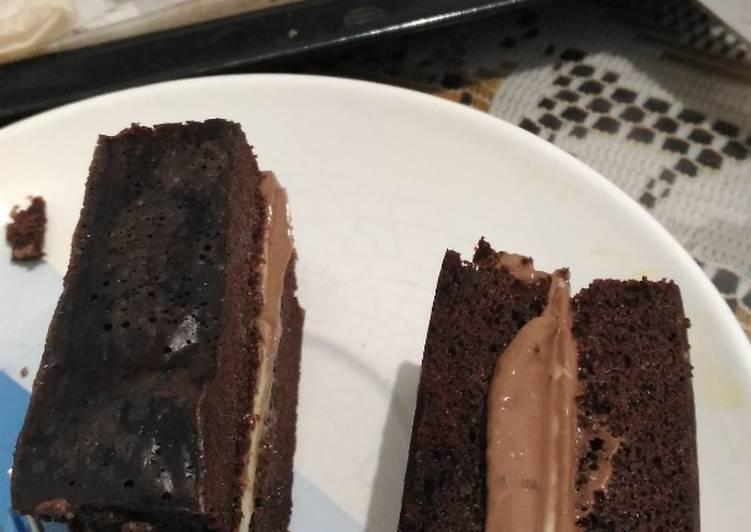 Cake coklat #keto#me time is baking time