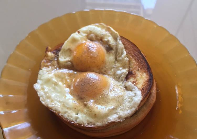 Resep Garlic Bread and Egg for Breakfast Top