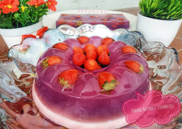Puding Nutrijell Strawberry