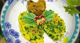 Hình ảnh món Patê gan gà Chả trứng bina mix pate