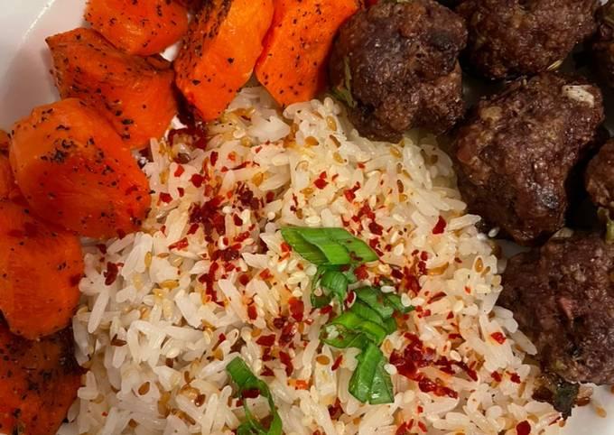 Roasted Carrots and Meatballs- Inspirasi Menu Bekal Anak