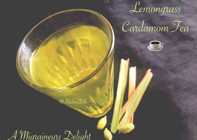 Recipe of Award-winning Lemongrass Cardamom Tea