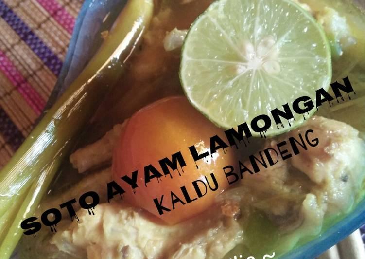 Soto Ayam lamongan dgn bandeng