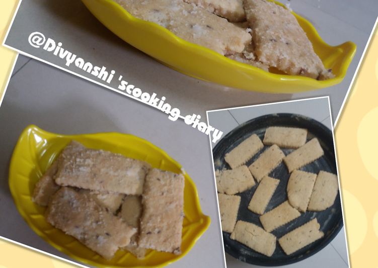 Recipe of Perfect Jeera cookies