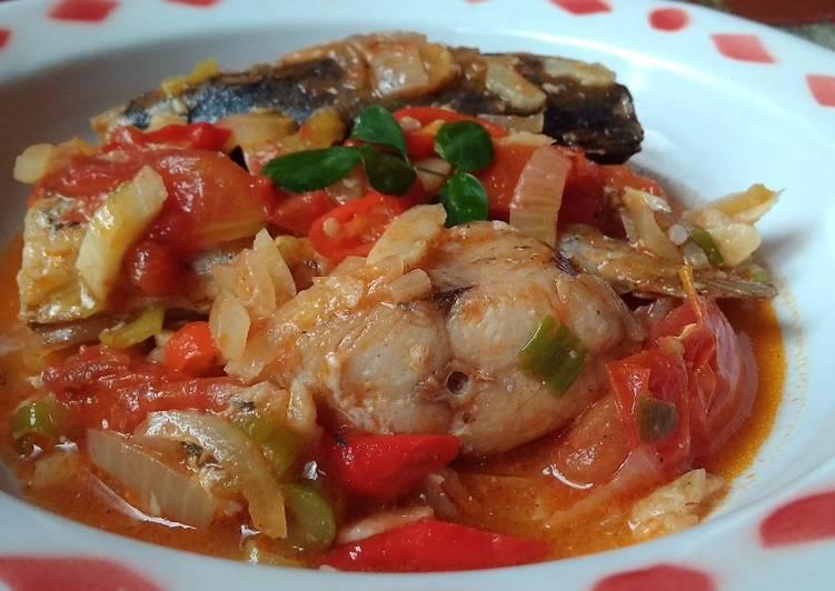 Ikan Tenggiri Masak Tomat