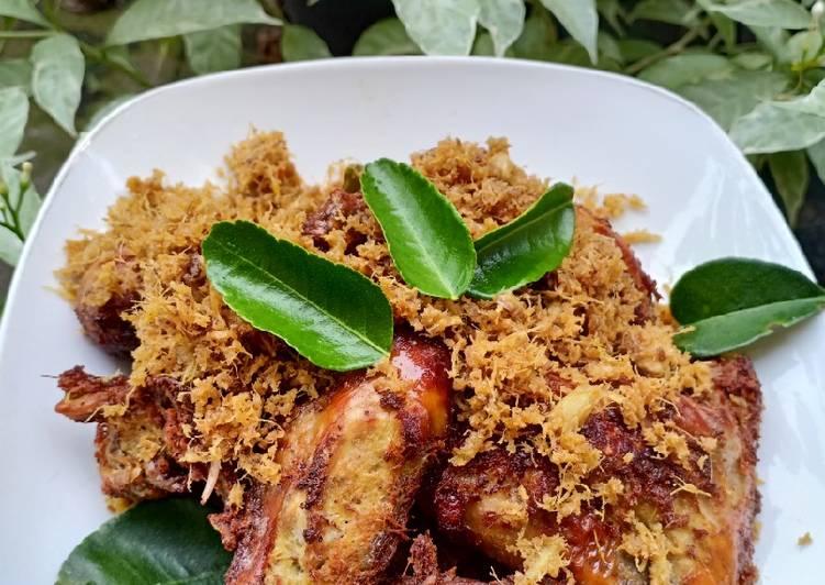 Cara Gampang Memasak Ayam Goreng Bumbu Padang Sederhana