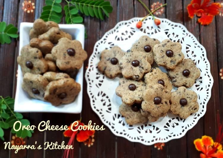 Oreo Cheese Cookies - cookandrecipe.com