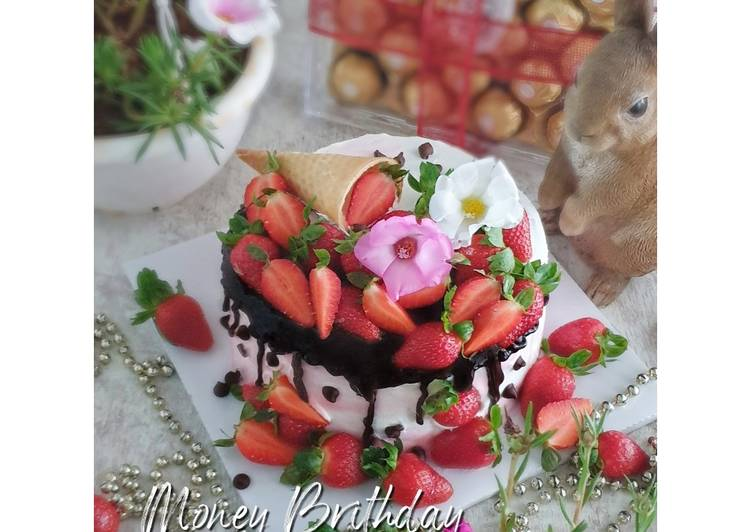 307. Money Birthday Choco Cake || 生日蛋糕🎂