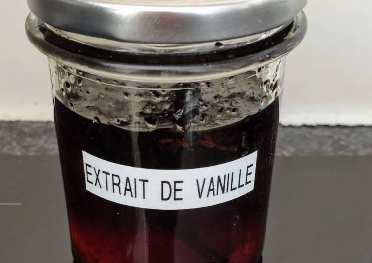 Extrait de vanille (vegan)