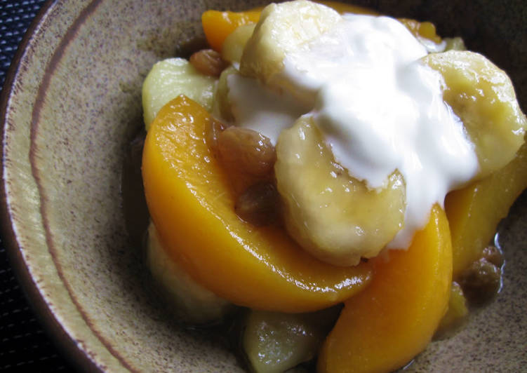 Easiest Way to Prepare Award-winning Hot Fruit Salad