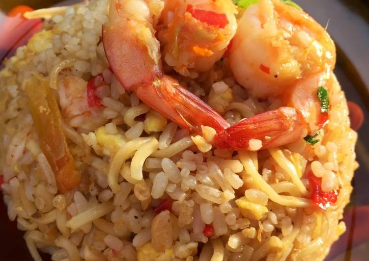 Nasi Goreng Mawut Spesial
